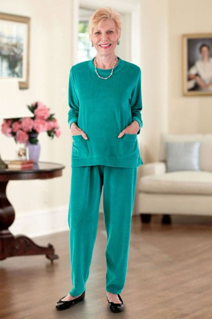 Velour Set with Pockets