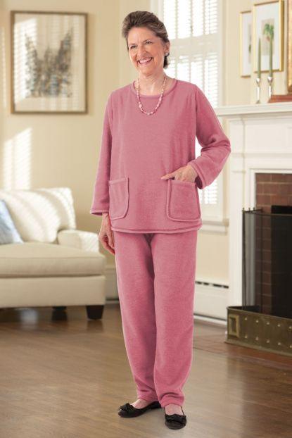 Bouclé Knit Set