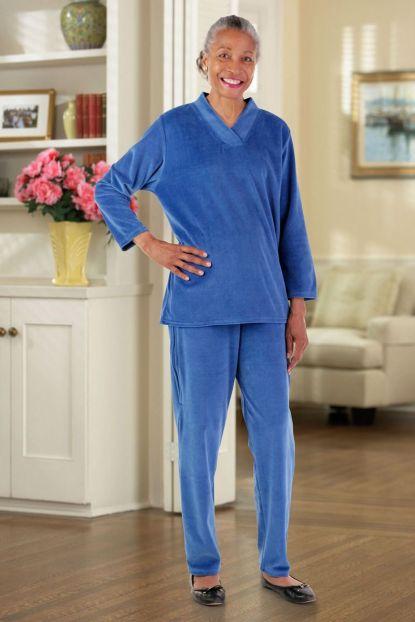Adaptive Velour Pant Set