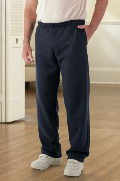 Men's Open Cuff Sweatpants (S-2X)