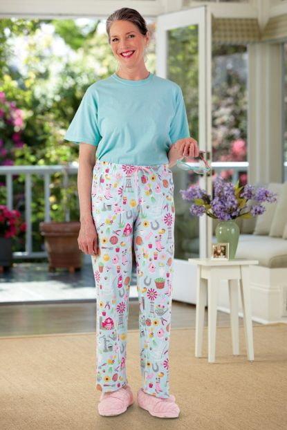 Women's Jersey Knit PJ Pants