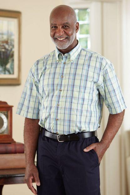 Men's Short Sleeve Sport Shirt