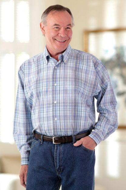 Men's Long Sleeve Sport Shirt
