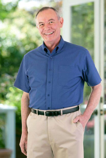 Short Sleeve Stain Resistant Shirt