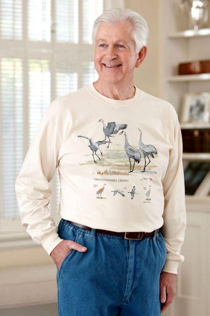 Men's Long Sleeve Printed T-Shirt
