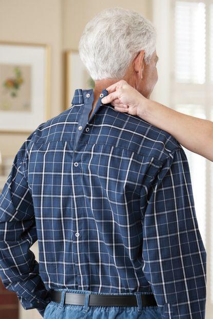 Long Sleeve Snap Back Sport Shirt