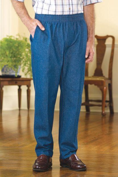 Men's Denim Putter Pants (2X & 3X)
