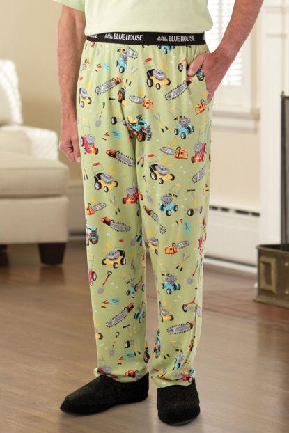 Men's Knit Pajama Bottoms
