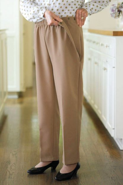 Poly Side Snap Pants (Small Only)