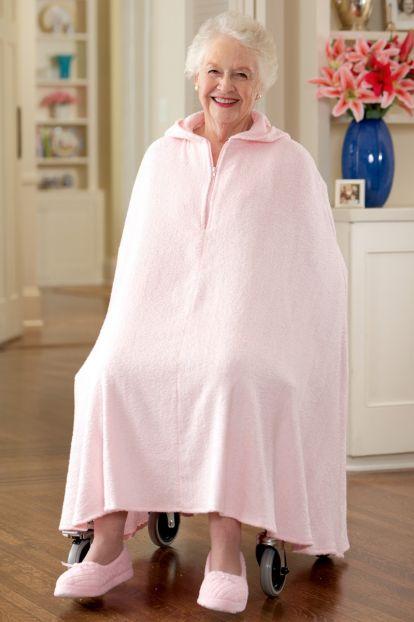 Women's Terry Shower Robe