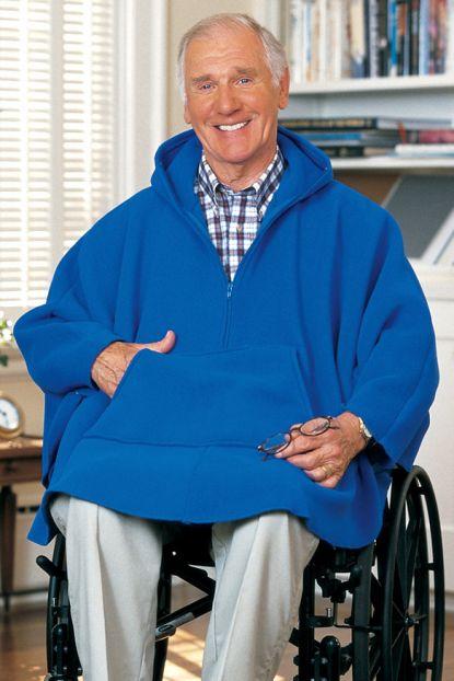 Men's Fleece Poncho