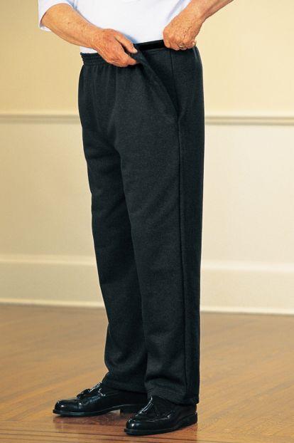 Men's Fleece Side-Snap Pants