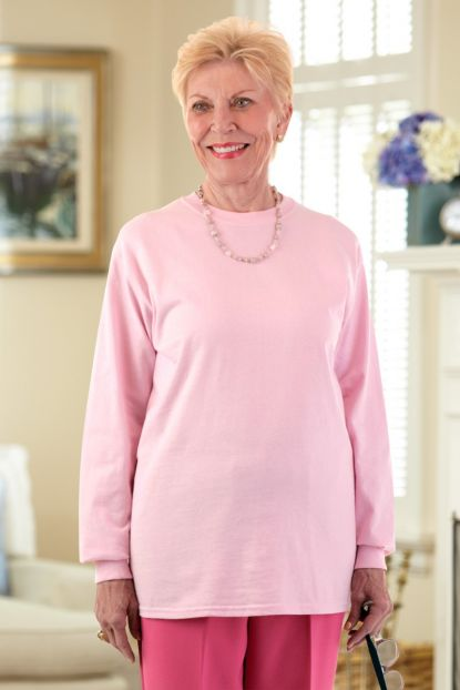Women's Long Sleeve Solid T-shirt
