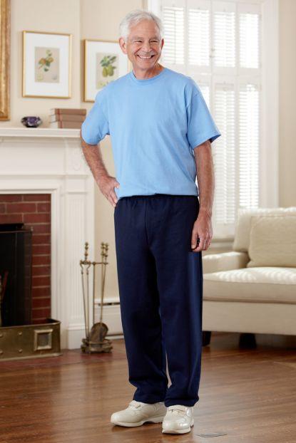 Men's Short Sleeve Basic T-Top Jumpsuit (S-2X)