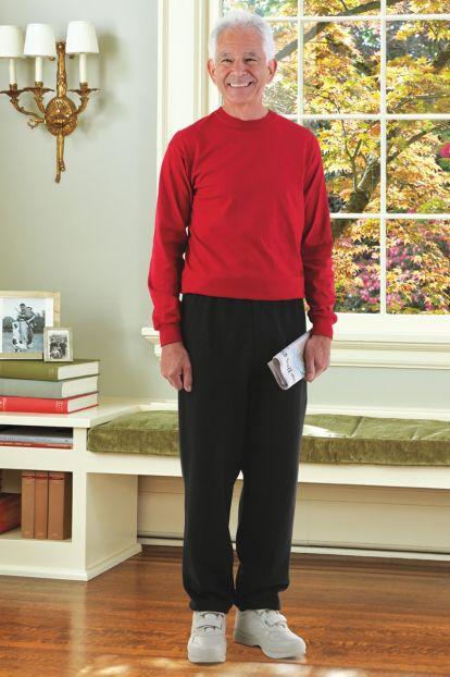 Men's Long Sleeve Basic T-Top Jumpsuit (S-2X)