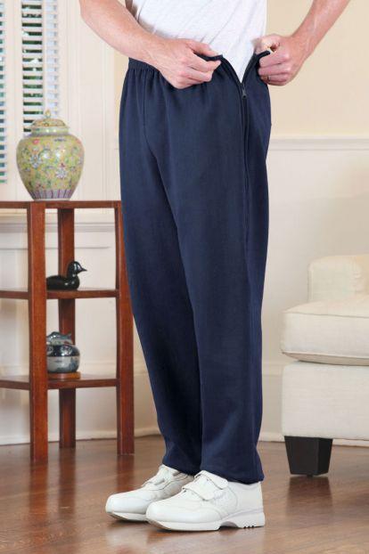 Men's Side-Zip Sweat Pants
