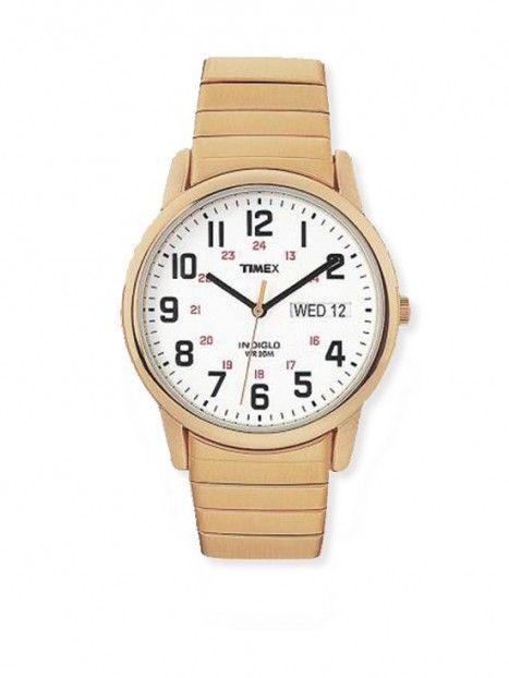 Mens Timex Watch- Gold Tone