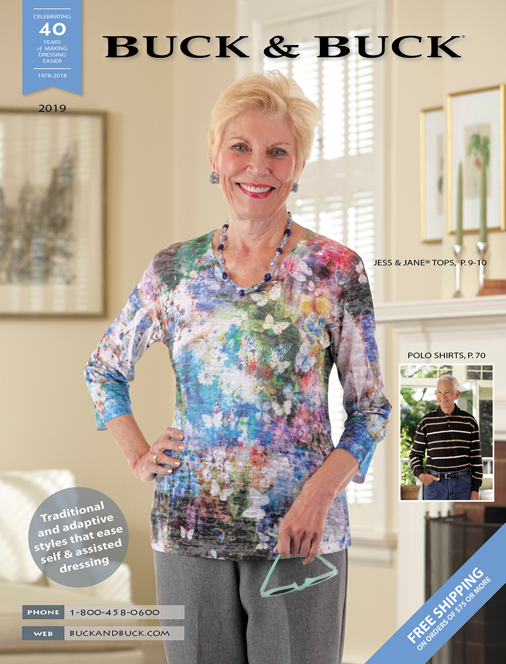 Get a Free Catalog! Adaptive Clothing for Seniors, Disabled