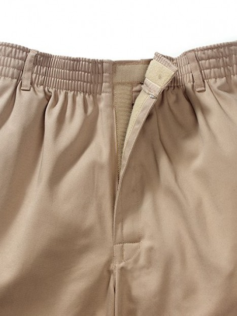 Twill Putter Pants (S-XL) with VELCRO® Brand Fastener Fly
