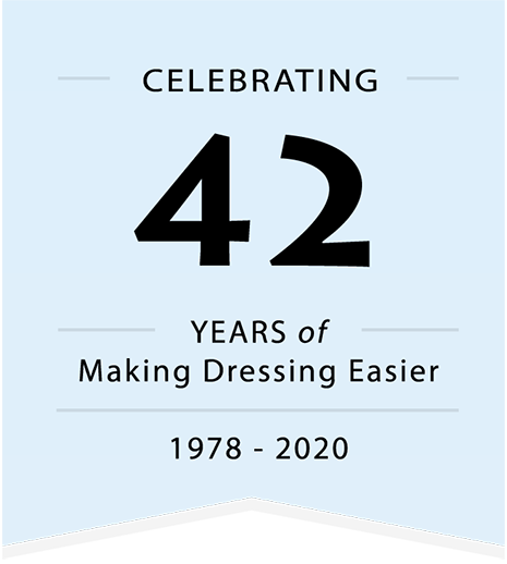 Celebrating 42 Years of Making Dressing Easier