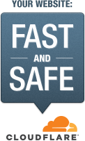Your Website is Fast and Safe - CloudFlare®