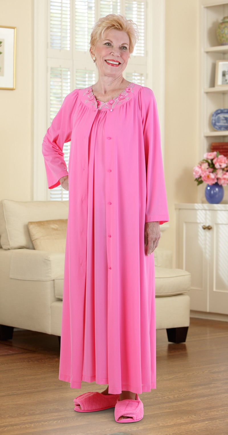 5ae376e7908a Shadowline Petals Long Robe – Buck   Buck