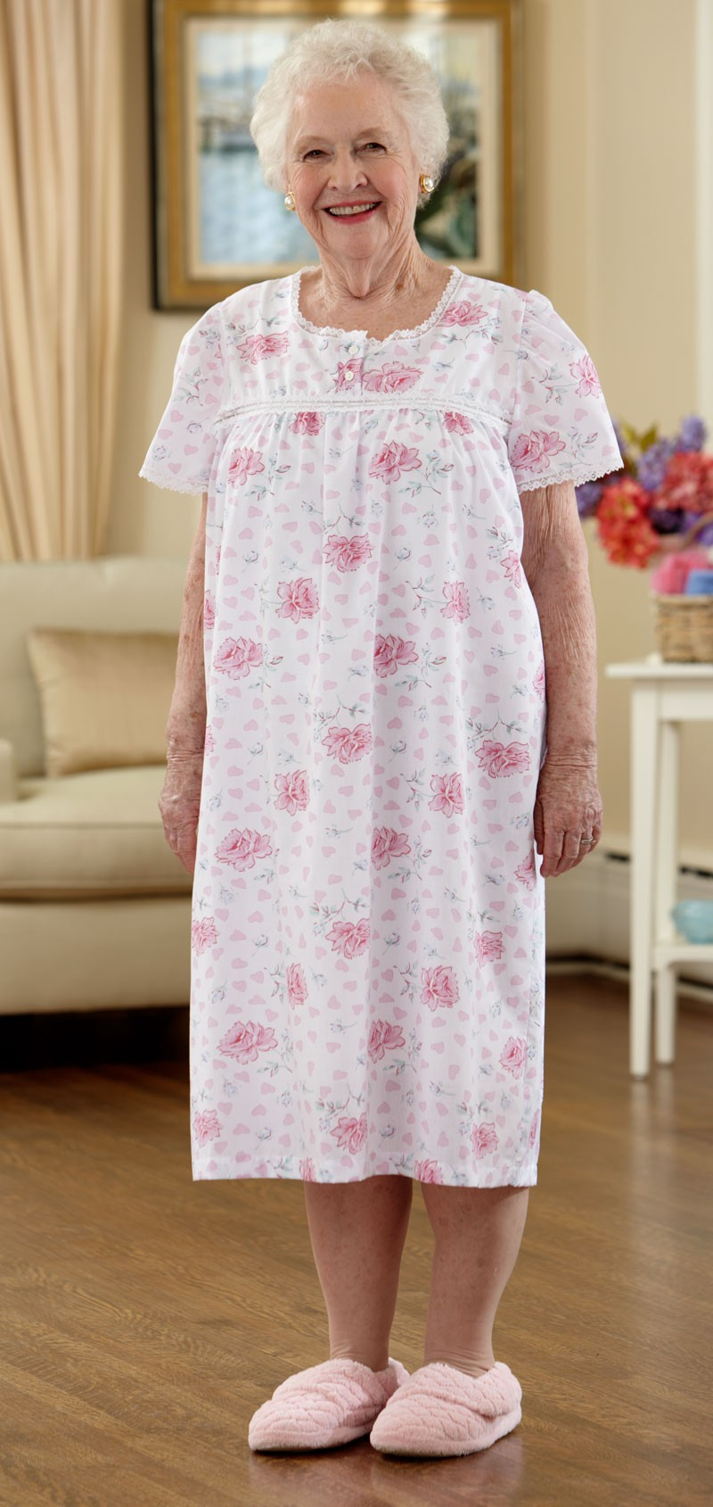 Cotton/Poly Nightgown – Buck & Buck