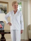 Women's Flannel Pajamas Image 1