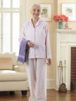 Women's Flannel Pajamas Image 3