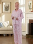 Women's Flannel Pajamas Image 2