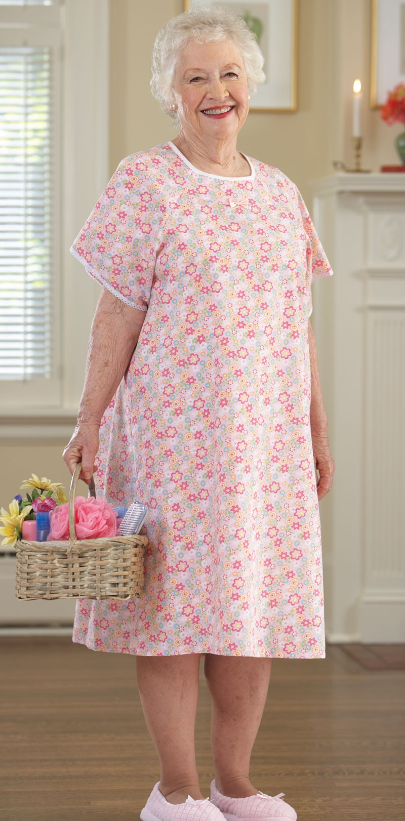 Dresses For The Elderly Woman Budget Cotton Poly Open Back