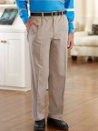 Twill Putter Pants (Sm-XL) with VELCRO® Brand fastener fly Image 2