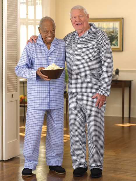 Men's Cotton/Poly Pajamas