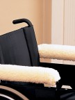 Wheelchair Arm Protectors-Full Length Image 1