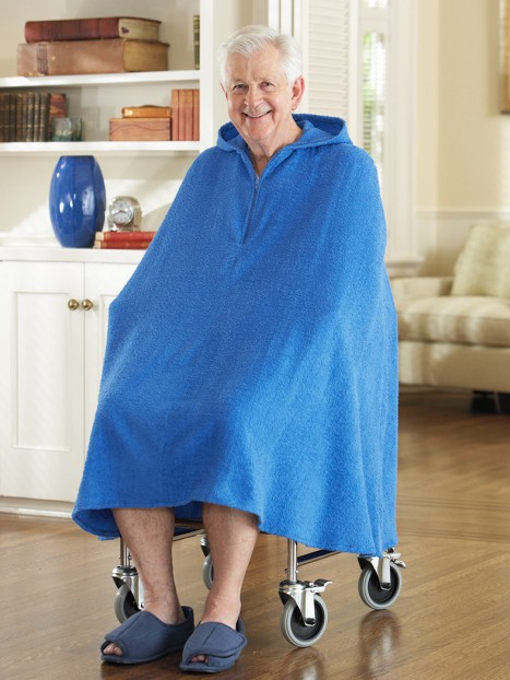 Men's Terry Shower Robe
