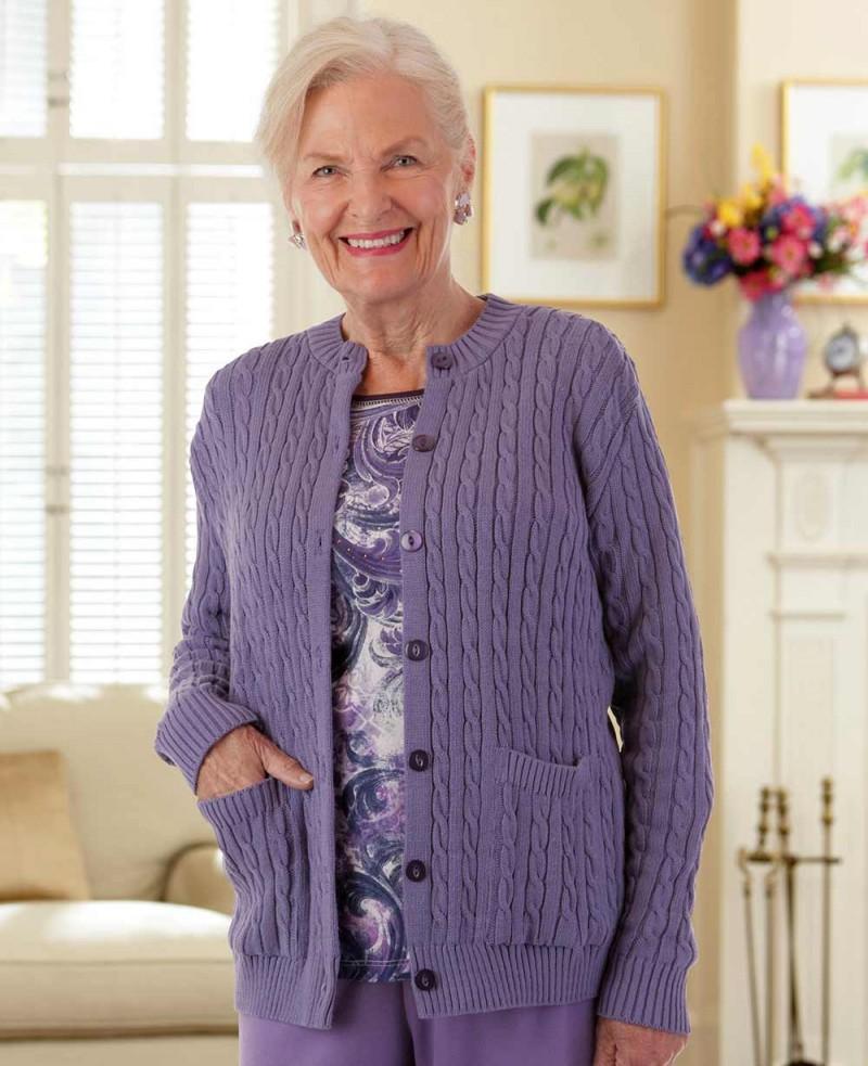 Cotton Cardigan Sweater with Pockets – Buck & Buck