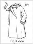 Polar Fleece Swing Coat Image 3