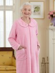 So-Soft Zip-Front Robe Image 2