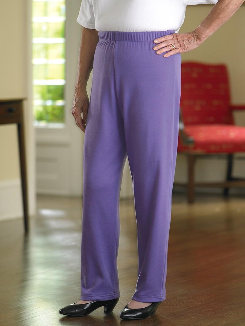 Cotton/Poly Knit Pants (3X-5X)