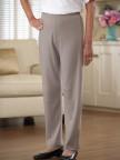 Cotton/Poly Knit Pants (3X-5X) Image 2