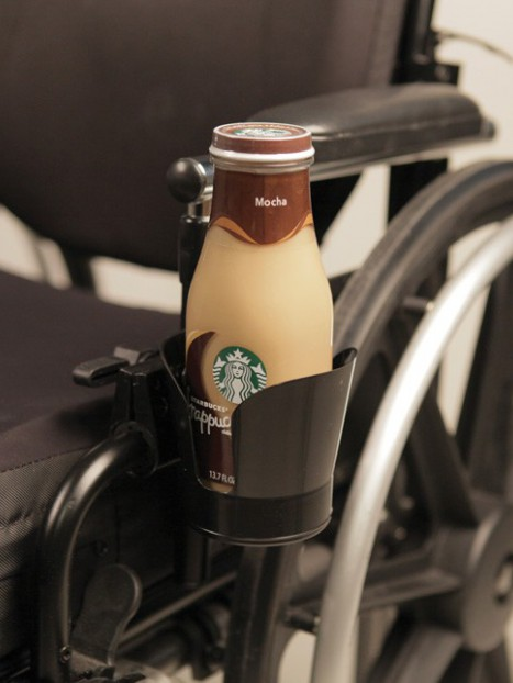 Basic Cup Holder for Walker or Wheelchair
