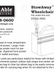 Stowaway Wheelchair Pack by Adaptable Designs Image 3