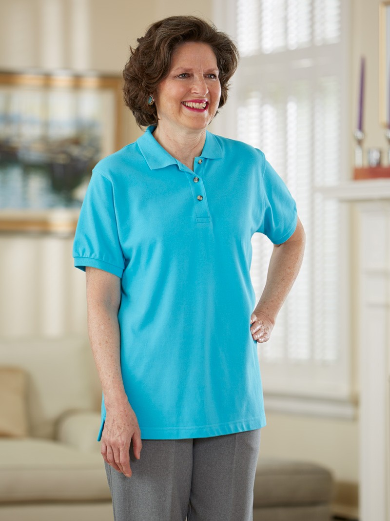 Womens Polo Shirts 2x To 4x Buck Buck